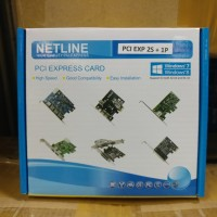 NETLINE PCI Express Card - LPT and Serial