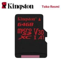 Kingston MicroSD Card Canvas React Class 10 MicroSDXC 64GB