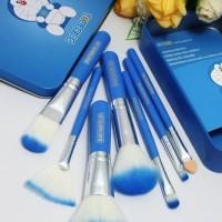 Dijual Kuas Doraemon Brush Kaleng 7In1 /Make Up Brush /Kuas Termurah