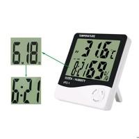 Termometer Pengukur Temperatur Ruangan Digital LCD Hygrometer MURAH