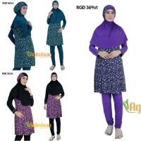 Baju Renang Wanita Muslimah - Ungu, S