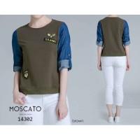 MOSCATO 883600 6a Blus Import / Blus Premium Wanita / Blus Lengan Panj
