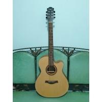 Gitar Akustik Elektrik Merk Camwood Original Tipe IWC-235 NA Eq Tuner