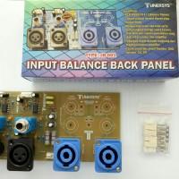 Kit input balance back panel