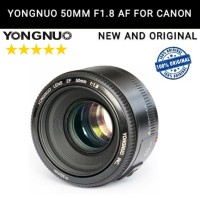 Lensa Fix Yongnuo YN 50mm / Yungnuo 50 mm F1.8 AF Autofocus for Canon