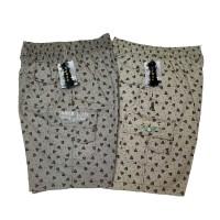 Celana Pendek Cargo Motif Army XXL