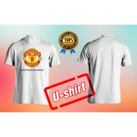 BAJU KAOS DISTRO MANHESTER UNITED FC SIMPLE ELEGAN PRIA&WANITA U-SHIRT
