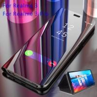 Realme 3 Pro Realme 3 Realme 3i Casing Mewah Lapis Cermin Phone Case F