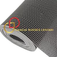 Keset Karpet Karet PVC Anti Slip Meteran - Jaring