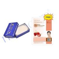Victoria Egg White 15g FREE Dermal Strawberry Mask