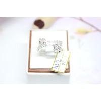 cincin cartier emas putih fashion original mas 75% 1