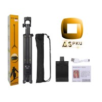 Tripod/Tongsis + Remote Yunteng VCT-1688 (3in1) Free Remote Selfie