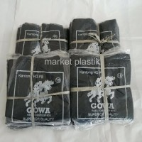 Kantong plastik/kantong hitam/kantong kresek/Gowa pak HK@ 10PAK