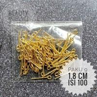 paku 9 uk 1.8 cm gold 20gram