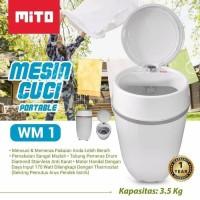 MITO mesin cuci portabel WM 1 - mesin cuci mini portabel MITO