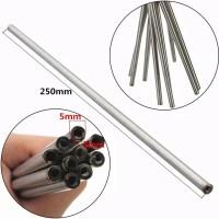 "Pipa Tabung Kapiler Stainless Steel 9.8"" OD5mm x ID3mm Seamless"