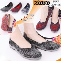 Sepatu Anyaman Kiddo Flat New 205 68 PREMIUM IMPORT Rajut Original