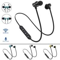 Earphone Wireless Bluetooth Stereo Bass untuk Olahraga