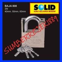 Gembok Baja SOLID 808-40 mm Khusus Buat Outdoor