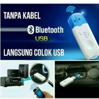 BT-460 DONGLE USB Bluetooth Receiver Audio Music tanpa kabel AUX