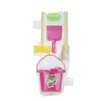 Mainan Miniatur Alat Kebersihan Barbie