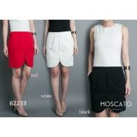 MOSCATO 62233 1b Rok Polos Import / Rok Belah Tengah / Rok Sepan