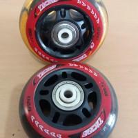 Roda Sepatu Karet PU - Inline roller blade