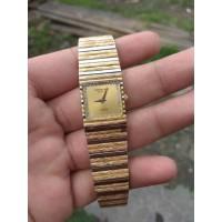 Jam Tangan Wanita Mewah Raymond Weil Lapis Emas 18K Original Swiss