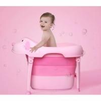 bathtub lipat bayi anak / tempat mandi lipat portable multi fungsi