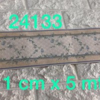 Wallpaper Border list Dinding Bunga kecil 5 mtr