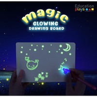 Magic Drawing Board / Mainan Edukasi Anak / Glowing Board NEW ARRIVALS