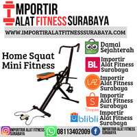Sepeda Statis Alat Fitness Exider Home Squat Body Crouch Power Rider