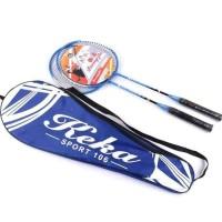 Raket Badminton 2 PCS - Biru
