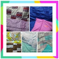 RDS Bed cover Selimut Dakron 200x280 perca mylove dan california