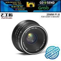 Lensa 7ARTISANS 25MM F1.8 FOR Mirrorless SONY E-MOUNT (Tokocabang)