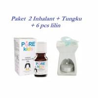 Paket Purekids Inhalant Decongestant Oil