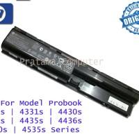 Baterai Original HP Probook 4330s 4331s 4430s 4431s 4435s Series