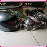 visor dark kaca hitam helm kyoto ink dynamic