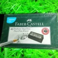 paling baru dan terlaris Penghapus FABER CASTELL Hitam (satuan)