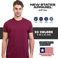 Kaos Polos NSA SOFT ( New State Apparel ) persis GILDAN softstyle