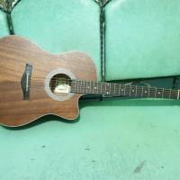 Gitar Akustik Original Senar String Cowboy GWC39 Coklat Tua