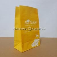 Kantong kertas foodgrade 10x4x15 cm