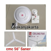 Kipas Angin Gantung Besi Sanex 56 Inch Celling Fan Besi elektro