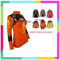 RDS Kaos pelangi Tshirt Baju senam Kaos olahraga wanita Kaos