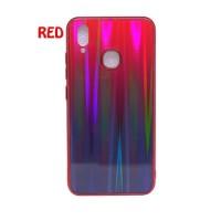 Samsung Galaxy M20 Gradient Aurora Glass Soft Case
