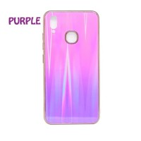 Samsung Galaxy A2 Core Gradient Aurora Glass Soft Case