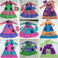 SALE 30% size 3 Jubah Dannis baju muslim anak perempuan