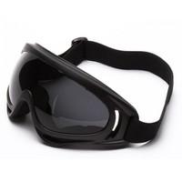 Kacamata Pelindung Olahraga Sport Motor Cross Trail Speedboat Googles - Hitam