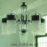 Lampu Gantung Minimalis IL 16080/5+1 CHBK