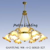 Lampu Gantung Minimalis 908/6+2 GD